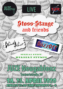 Flyer Stoss-Stange and friends